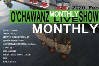 O'CHAWANZ定期公演 「MONTHLY